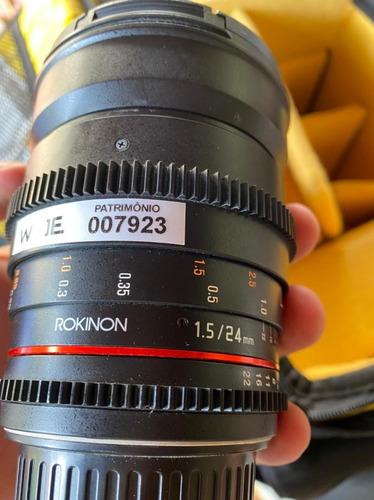 Lente Rokinon 24mm