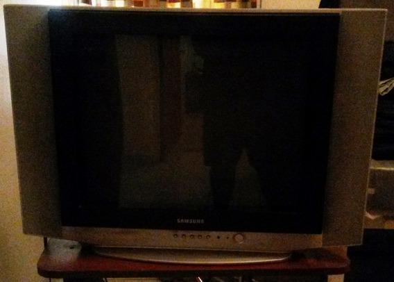 Tv Samsung De 21 Pulgadas, Pantalla Plana (convencional)
