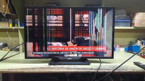 Compro Tv Lcd Led Funcionando Con Pantalla Rota O Defectuosa