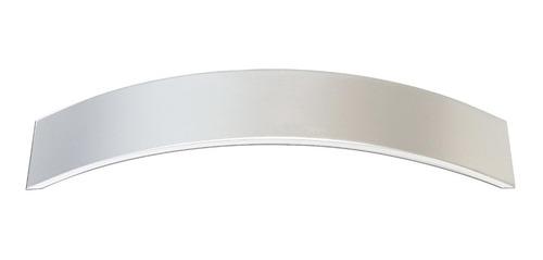 Manija Mueble 160mm Curvo Aluminio 5 Unidades Verashop 008