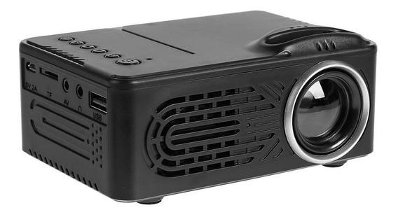 2,0 Polegadas Tft Lcd 1080p Mini Projetor Home Theater Led
