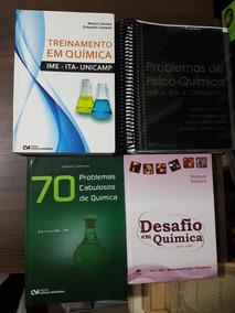 Ime Ita Combo Livro De Química Nelson Santos