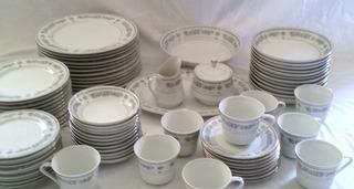 Vajilla Antigua Porcelana Everbrite Japón 12 Meses Sin Int