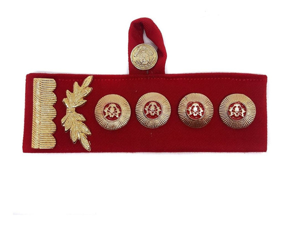 Jerarquía Pectoral Atributo Sol Y Botón Comandante General