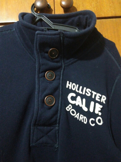 No Brasil! Hollister Masculino Moletom Blusa Casaco De Frio