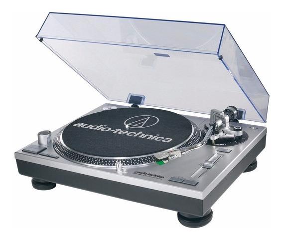 Toca Discos Audio Technica At-lp120x Usb Bi Volt Prata