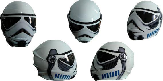 Capacete Fechado Integral Liberty Personalizado Star Wars