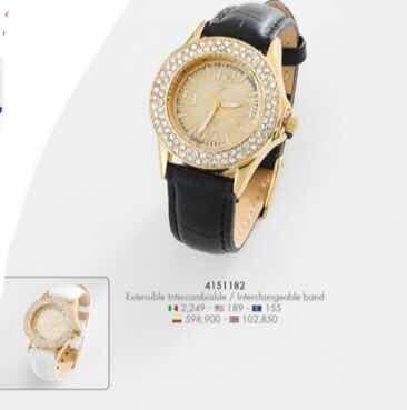 Reloj Marca Nice, Para Dama Mujer Con Máquina Suiza