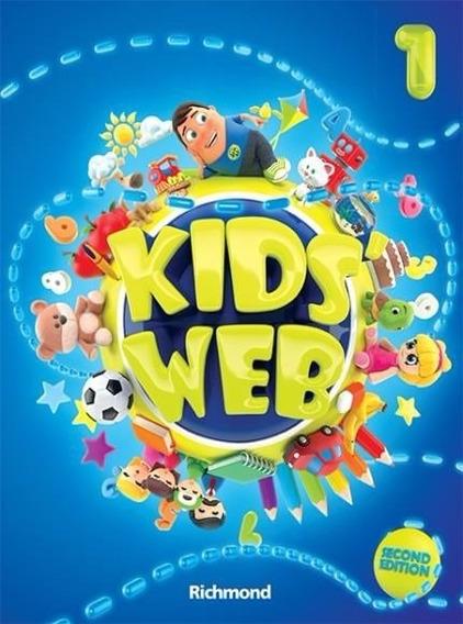 Kids´ Web 1 - Livro Do Aluno - 2ª Ed + Dvd-rom + Cd. Oferta!