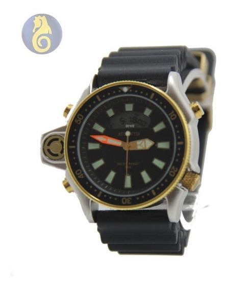 Relógio Original Aço Inox Prata Masculino Social Sport Quart