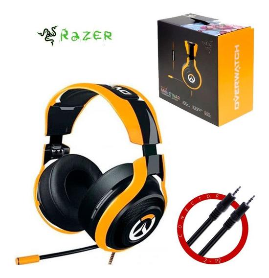 Headset Razer Man O´war Tournament Ed Overwatch Xone Ps4 Pc