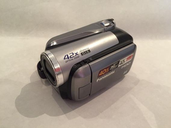 Filmadora Panasonic Sdr-h40p 40gb Zoom 42x