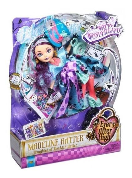 Ever After High País Das Maravilhas Madeline Hatter - Mattel