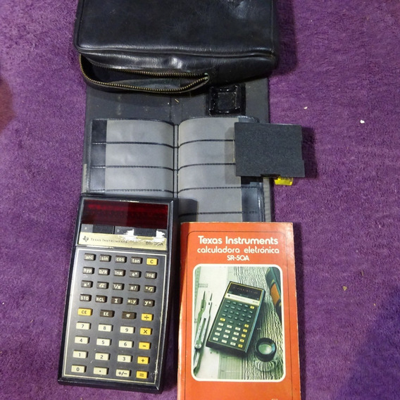 Calculadora Sr-50 Texas Instrument