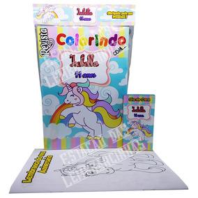 38 Revistas Livro De Colorir 15 X 21 Cm + Giz De Cera