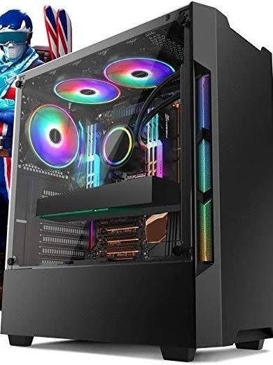 Pc Gamer Intel Core I5 Nona Geração 9400f Radeon Rx 580 8gb
