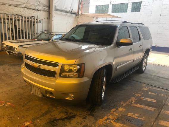 Chevrolet Suburban D Piel Aa Dvd Qc 4x4 At Blindada Nivel 3