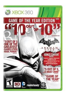 Juego Batman Arkham City Goty Xbox 360 Ibushak Gaming