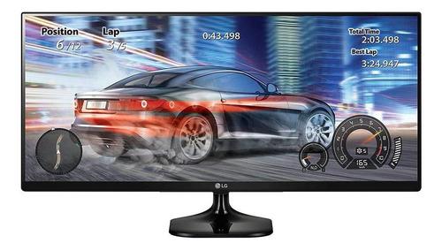 """Imagen 1 de 3 de Monitor gamer LG 25UM58 led 25"""" negro 100V/240V"""