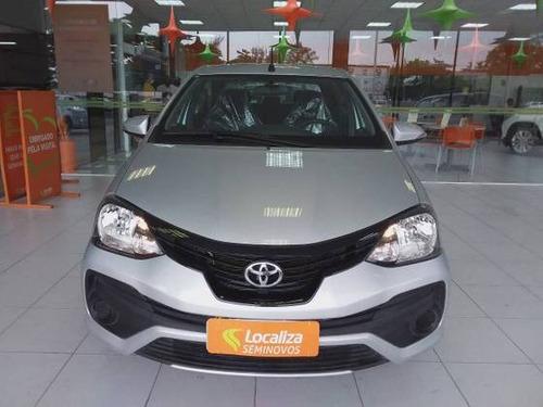 Imagem 1 de 10 de Toyota Etios 1.5 X Plus Sedan 16v Flex 4p Automático