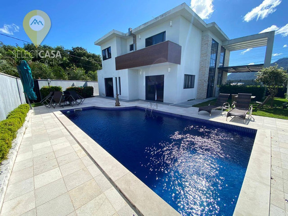 Casa No Alphavile Jacuy À Venda, 310 M² Por R$ 1.390.000 - Alphaville Jacuhy - Serra/es - Ca0175