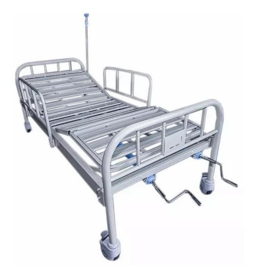 Cama Hospitalaria Con Barandales Y Colchón Envío Gratis