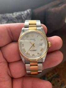 Rolex Datejust Aço Ouro