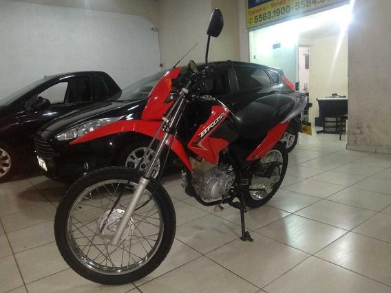 Honda Nxr 125 Es 2015 Vermelha