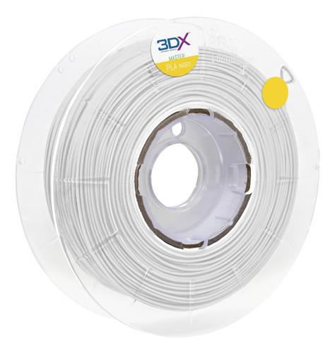Filamento Pla Ht 1,75 Mm   500g   Branco 3dx