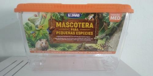 Imagen 1 de 1 de Lomas Mascotera Pequeñas Especies Med Reptiles Roedores Pece