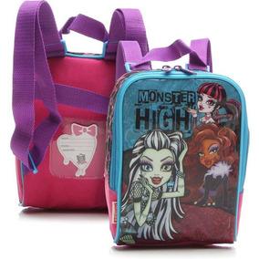 Kit Lancheira Monster High + Estojo Sestini