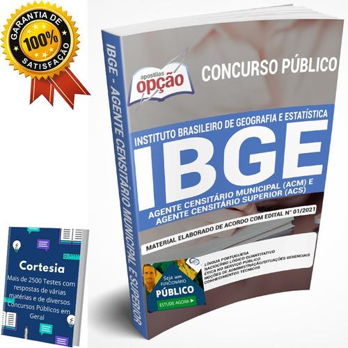 Apostila Concurso Ibge - Agente Censitário Municipal (acm)