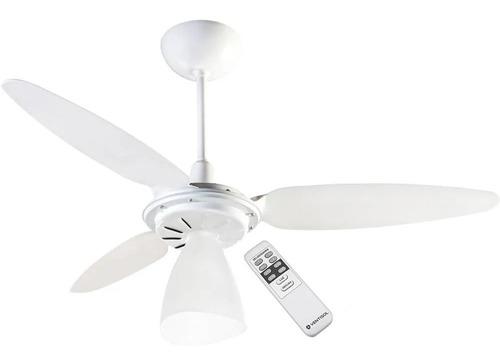 Imagem 1 de 4 de Ventilador De Teto Ventisol Wind Light Com Controle Remoto - 130w - Econômico - Silencioso - 127v