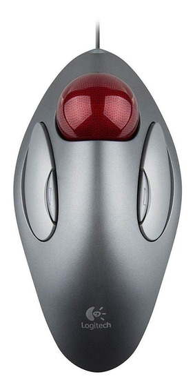 Mouse trackball Logitech Trackman Marble cinza