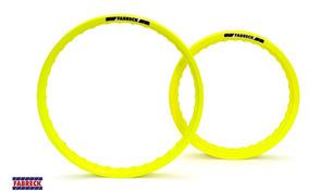 Par Aros Amarelo Neon Bros 150 160 Nxr 215x17+185x19 Ceara