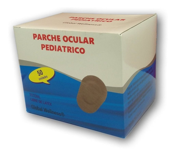 50 Parches Oculares Infantiles Color Piel - Parche Ocular