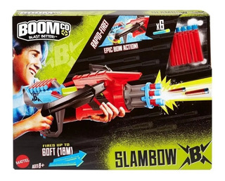 Pistola Slambow Boom Co Mattel $490.00