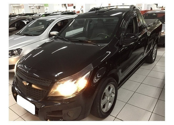 Chevrolet Montana Sport 1.4 Preto Cs 8v Flex 2p Manual 2011