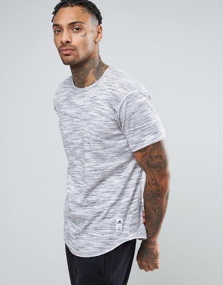 adidas 2xl Camiseta Playera Reigning Champ Hombre Gris