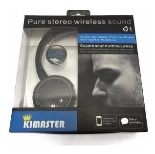 Fone Headphone Sem Fio Micro Sd Usb Fm Bluetooth Q1