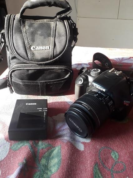 Câmera Canon T3 Profissional Usada Em Otimas Condições