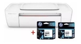 Impressora Hp Deskjet Ink Advantage 1115 Jato + 2 Cartuchos