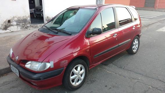 Scenic Megane Minivan 2.0 8v Vermelho Gasolina/gnv, Ano 99