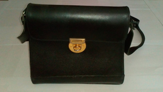 Cartera Candy Simil Cuero Negra