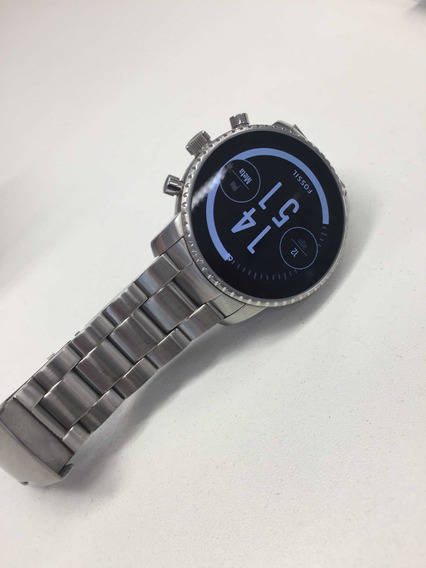 Relógio Fóssil Watch Redes Sociais Lançamento
