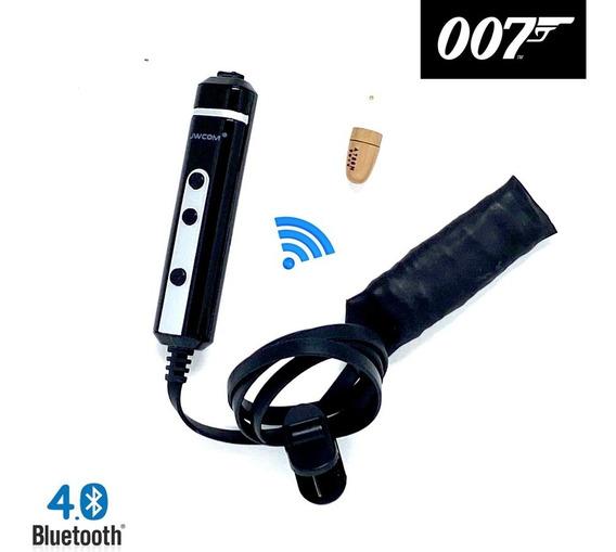 Kit Micro Ponto Fone Invsível Espião Eletronico Slim Fino G5