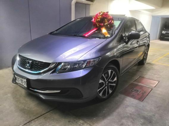 Honda Civic 1.8 Ex Sedan L4 . At 2014