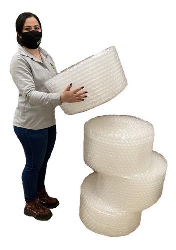 E Cuatro Rollos Plástico Burbuja Bomba Grande De 30cm X 25m