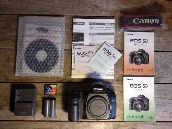 Canon 5d Clássica Edição De Colecionador