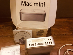 Mac Mini Core2duo Hd De 160 Memoria 2 Gb